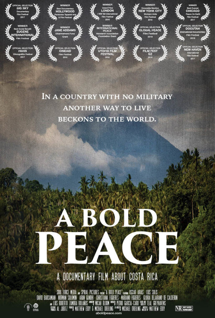 A Bold Peace poster 2017